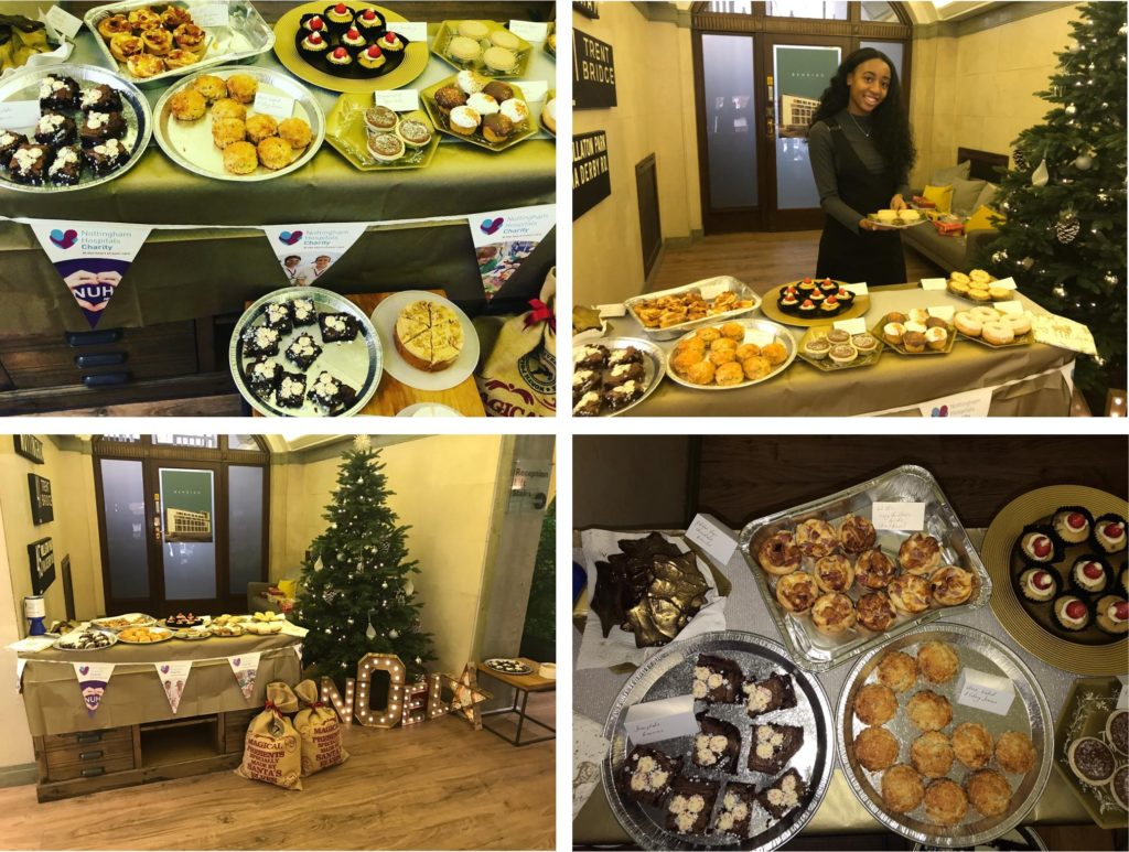 Charity bake sale Jennie Holland PR